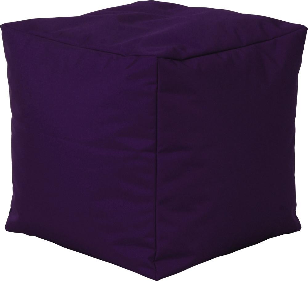 Sitting Point Sitzwürfel Cube Scuba aubergine
