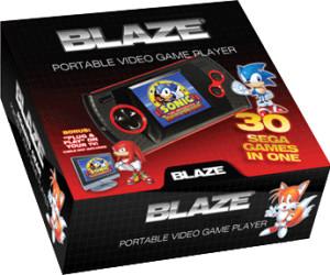 Blaze Sega Megadrive - Gear Handheld - Sonic Edition
