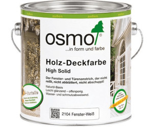 Osmo Holz Deckfarbe Fenster Weiss 0 75 Liter 2104 Ab 25 40