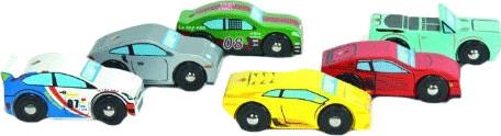 Le Toy Van Monte Carlo Sports Cars (TV440)