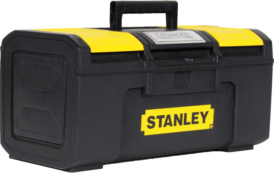 Stanley Werkzeugbox Basic mit Organizer 19 (1-79-217)   Baumarkt > Werkzeug > Werkzeug-Sets