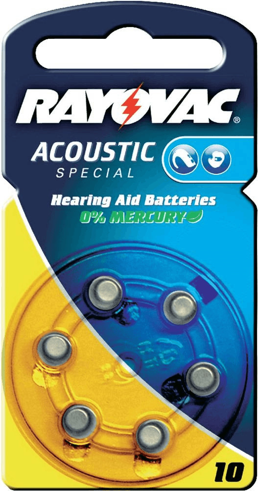 Image of Rayovac Acoustic Special 10 PR70 1,4V