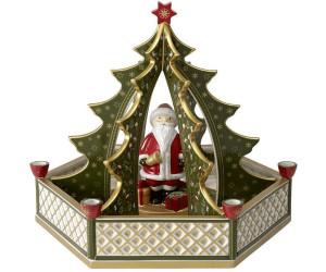 Villeroy & Boch Christmas Toys Tannenbaum mit Santa (29 x 26 cm) ab ...