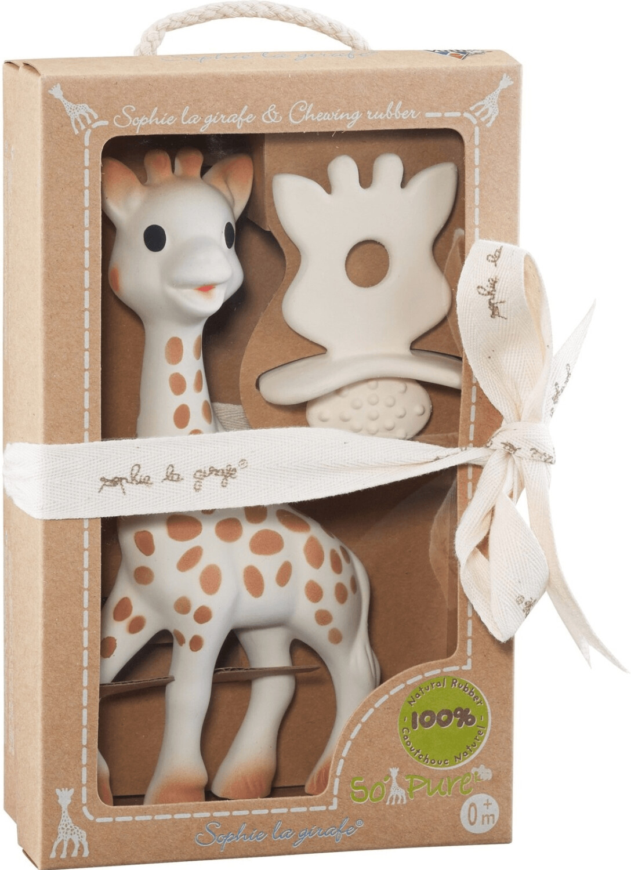 Vulli Sophie die Giraffe - Set mit Schnuller & Zahnungshilfe