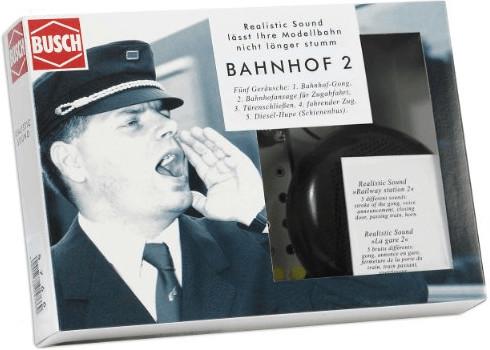 Busch Model Realistic Sound: Bahnhof 2 (5766)