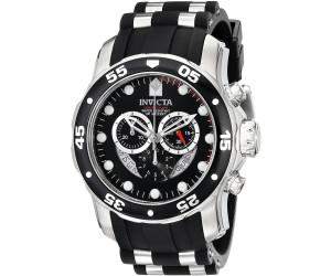 Invicta herren armbanduhr xl chronograph quarz kautschuk 6977