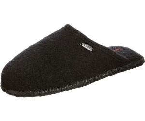 Giesswein Tino Unisex-Erwachsene Pantoffeln, Schwarz (022/schwarz), 36 EU