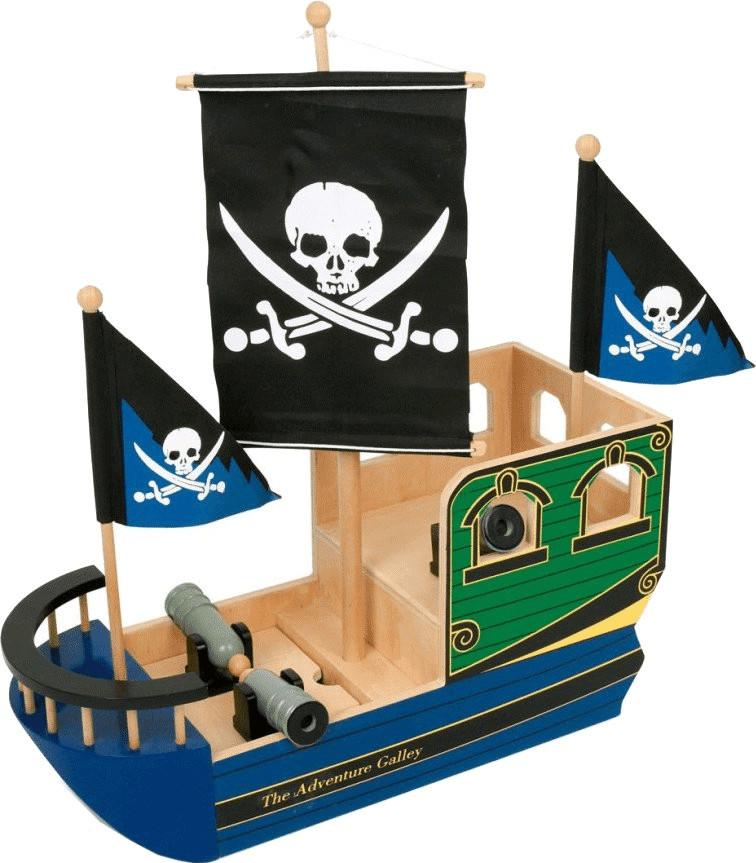 Small Foot Design Piratenschiff Totenkopf (1163)