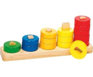 goki sortierspiel lerne z hlen mit ringen ab 6 68 preisvergleich bei. Black Bedroom Furniture Sets. Home Design Ideas
