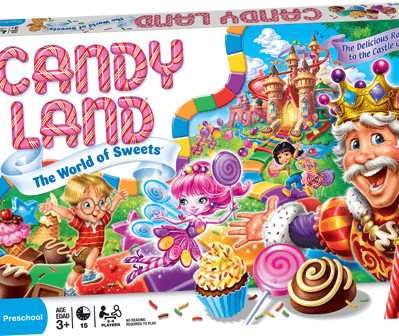 Hasbro Candyland Game (englisch)