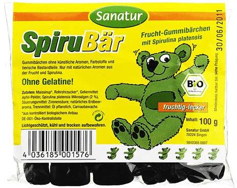 Sanatur Spirubär Spirulina Gummibärchen (100 St.)