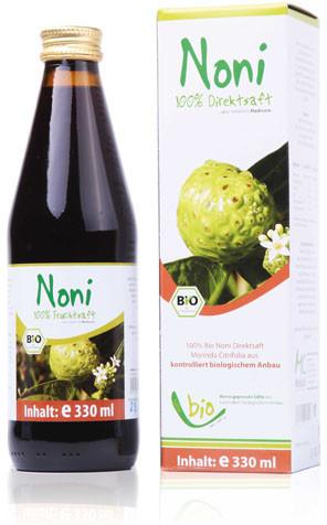 Medicura Bio Noni Direktsaft (330 ml)