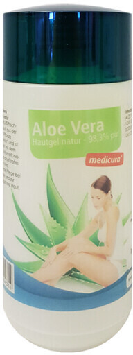 Medicura Aloe Vera Hautgel Natur 99 % pur (200ml)