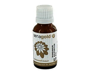 Senagold Biochemie Senagold 17 Manganum sulf. D 12 Globuli (20 g)