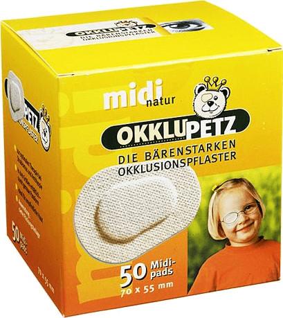 Berenbrinker Okklupetz Midi Natur (50 Stk.)