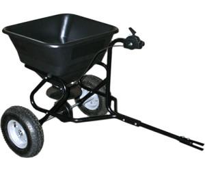 Wiltec Streuwagen 30 kg für Aufsitzmäher (50144)