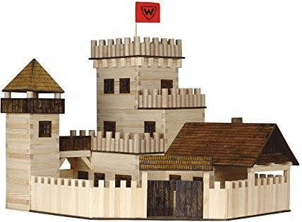 WALACHIA Holzbausatz Ritterburg