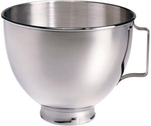 KitchenAid 4,8 Liter Edelstahlschüssel mit Handgriff poliert K5THSBP