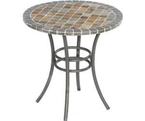 Gartentisch rund mosaik  SonnenPartner Montblanc Mosaiktisch Ø 70 cm ab 180,00 ...