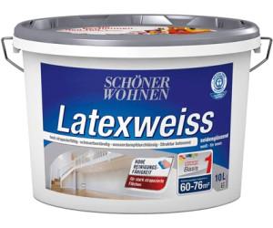 Schoner Wohnen Latexweiss 10 Liter Ab 56 53 Preisvergleich Bei Idealo De