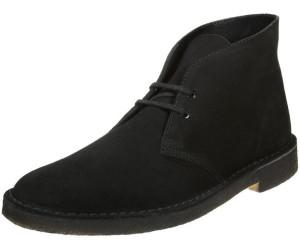 clarks desert boots homme daim noir au meilleur prix sur. Black Bedroom Furniture Sets. Home Design Ideas