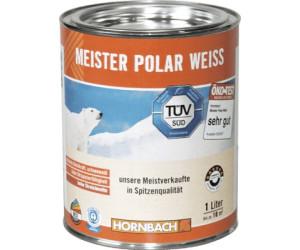 Hornbach Wandfarbe Meister Polar Weiss 1 Liter Ab 7 85
