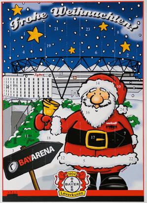 Produktwelt Bayer Leverkusen Adventskalender