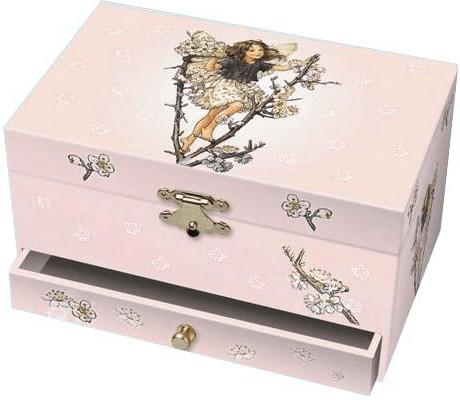 Trousselier Musical Jewellery Box Cherry - Flow...