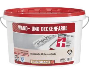 hornbach wand und deckenfarbe weiss 10 liter ab 25 95 preisvergleich bei. Black Bedroom Furniture Sets. Home Design Ideas