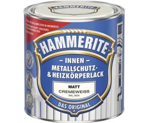 hammerite metallschutz und heizk rperlack seidenmatt cremeweiss 500ml ab 9 93. Black Bedroom Furniture Sets. Home Design Ideas