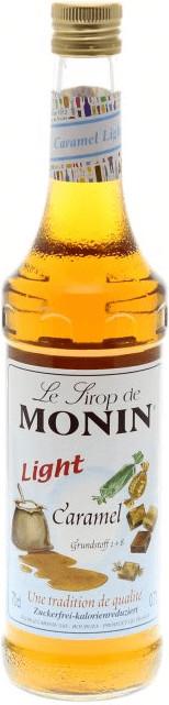 Monin Sirup Karamell light (zuckerfrei) 0,7 l