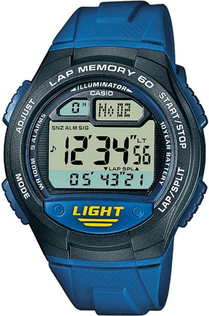 Image of Casio Collection blue (W-734-2AVEF)