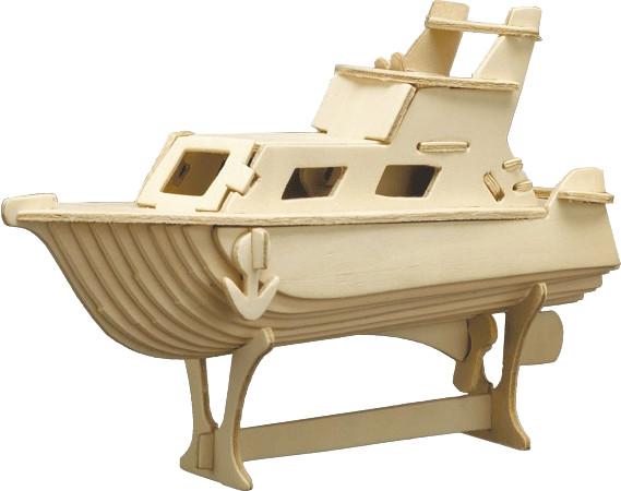 Pebaro Holzbausatz Yacht