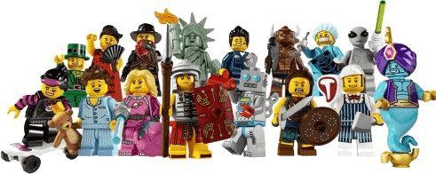 LEGO Minifiguren Serie 6 (8827)