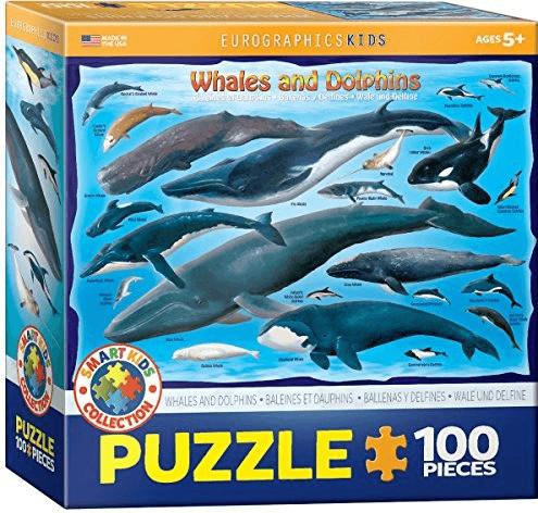 Eurographics Puzzles Wale und Delfine (100 Teile)