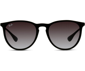 8502aa6be0 Buy Ray-Ban Erika RB4171 622 8G (black rubber grey) from £74.00 ...