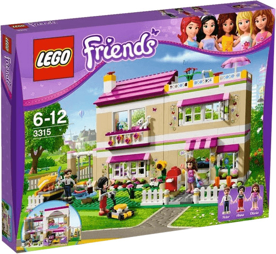 LEGO Friends - La villa (3315)