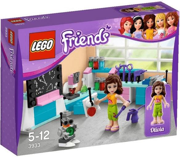 LEGO Friends - L'atelier scientifique d'olivia (3933)
