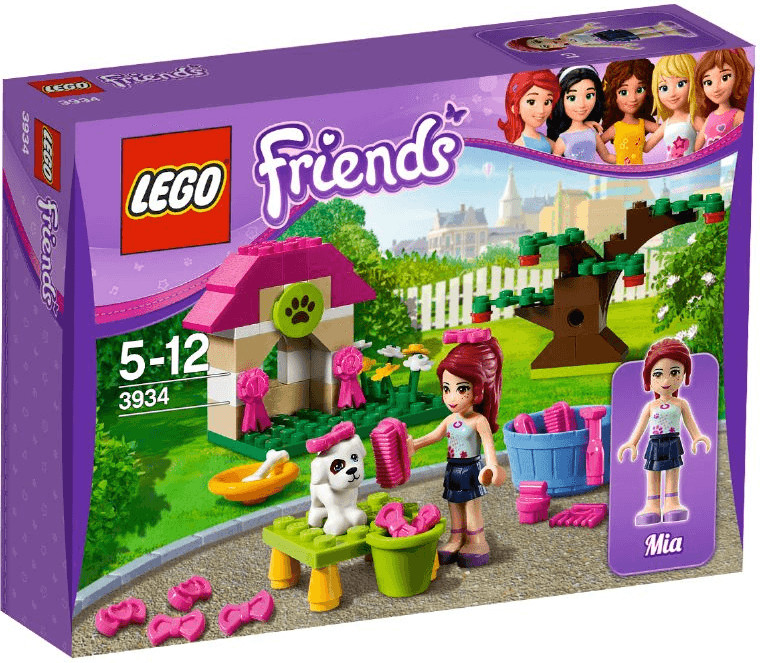 LEGO Friends Mia´s Welpenhäuschen (3934)