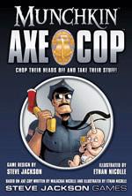 Steve Jackson Games Munchkin Axe Cop (englisch)