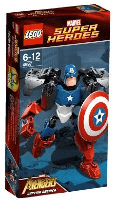 LEGO Marvel Super Heroes - Captain America (4597)