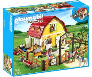 playmobil reiterhof ponyhof 5222 ab 69 94. Black Bedroom Furniture Sets. Home Design Ideas