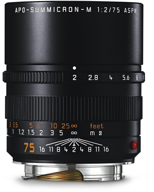 Image of Leica 75mm f/2.0 APO-Summicron-M Black