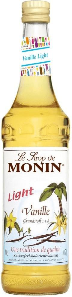 Monin Sirup Vanille light (zuckerfrei) 0,7 l