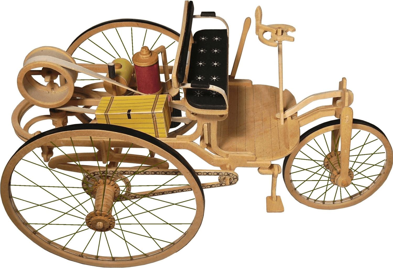 Weico Holzbausatz Das Oldtimer Museum - Benz Pa...