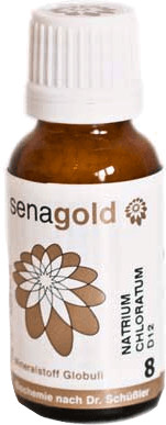 Senagold Biochemie 8 Natrium chloratum D 6 Globuli (20 g)