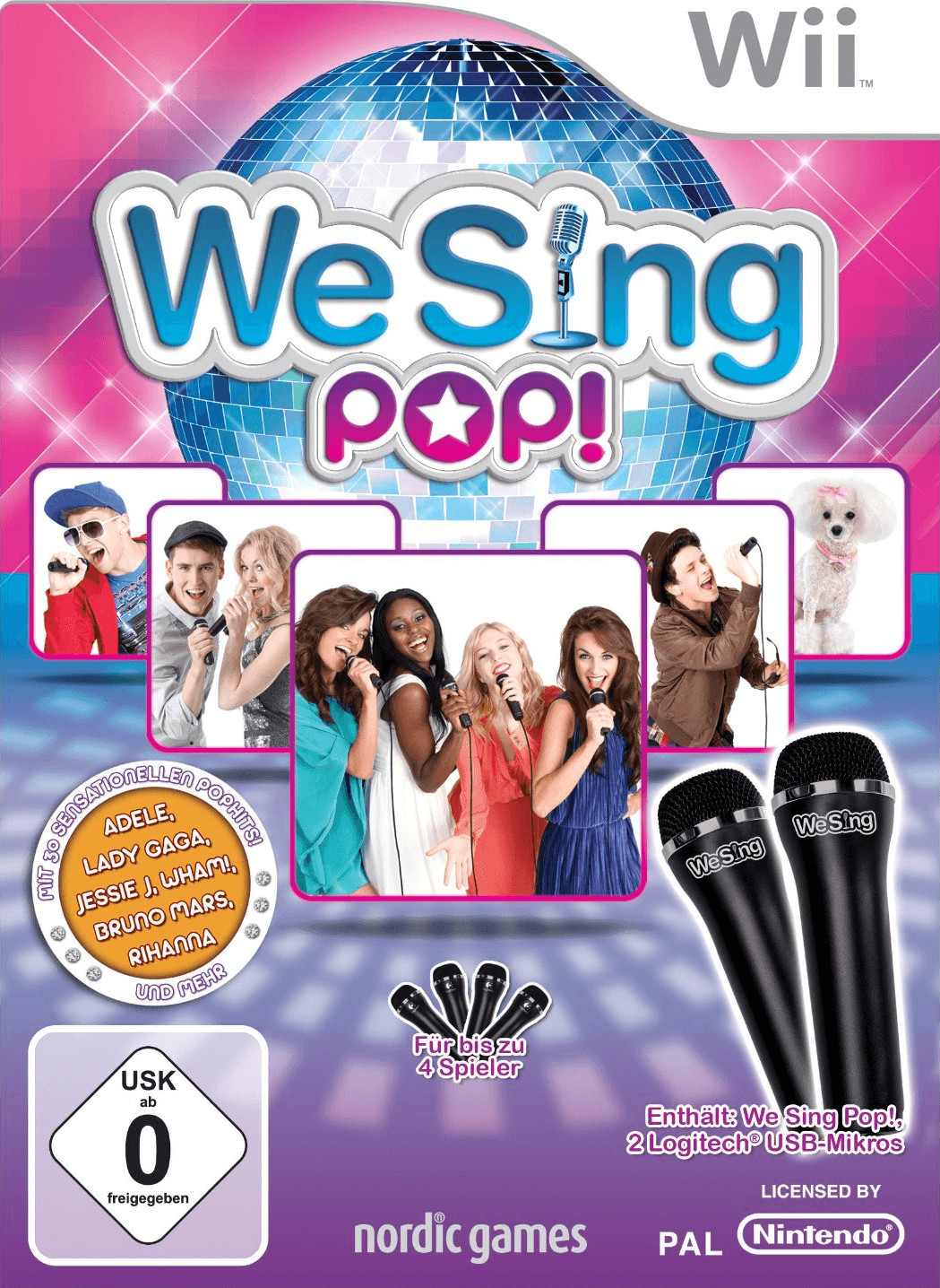 We Sing: Pop! + 2 Mikrofone (Wii)