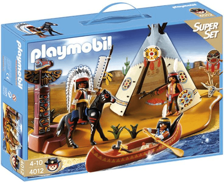 Playmobil SuperSet Indianerlager (4012)