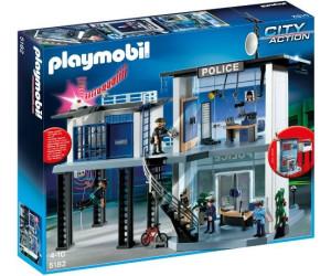 playmobil commissariat avec syst me d 39 alarme 5182 au meilleur prix sur. Black Bedroom Furniture Sets. Home Design Ideas