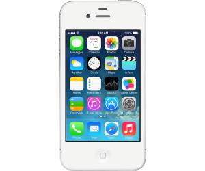apple iphone 4s 8go blanc au meilleur prix sur. Black Bedroom Furniture Sets. Home Design Ideas
